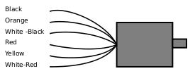 motor 2 fasa 6 wire